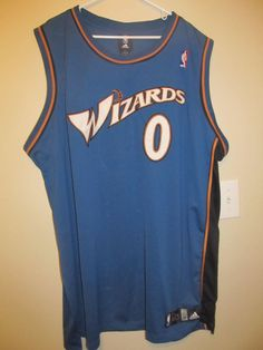 Details about Gilbert Arenas - Washington Wizards Authentic Basketball  Jersey - Adidas Men 54 48f0177d0