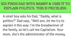 Kid Finds Dad With Nanny And Uses It To Explain Politics This Is Priceless