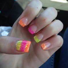 French tip summer