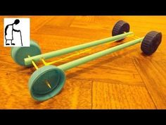 Make an Air Powered Balloon Car for kids - real life hacks - YouTube