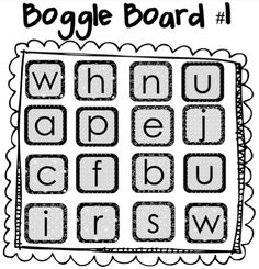 Find examples of boggle word game here. We present five examples of printable boggle game rules for you to learn and then play. Vocabulary Worksheets, Math Resources, English Resources, Word Puzzles, Puzzles For Kids, Classroom Rules, Google Classroom, Organisation
