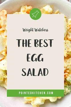 This easy to make Egg Salad is perfect for anyone following the Weight Watchers plans. A tasty WW lunch recipe that is 1 SmartPoint per portion on Weight Watchers Purple, Blue and (the old) Freestyle plans and 5 SmartPoints on the Green plan. #weightwatcherslunchrecipes #weightwatchers #freestyle #wwblueplan #wwgreenplan #wwpurpleplan #wweggsalad Weight Watchers Plan, Weight Watchers Snacks, Weight Watchers Chicken, Ww Recipes, Lunch Recipes, Baked Egg Custard, Food Words, Recipe Please, Egg Salad