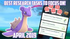 Best Research Tasks To Focus On In Pokemon Go! To Focus, Pokemon Go, Research, Battle, Make It Yourself, Search, Science Inquiry