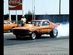 Mustang Gasser: Straight Axle Mustang Drag Car Gasser Mustang Drag Car G...