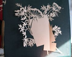 by Jeffery Rudell - Amazing paper artist! I want to make one!
