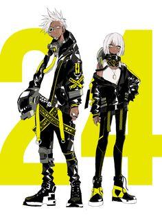 Cyberpunk Character, Cyberpunk Art, Character Concept, Character Art, Concept Art, Black Anime Characters, Fantasy Characters, Cartoon Characters, Ken Tokyo Ghoul