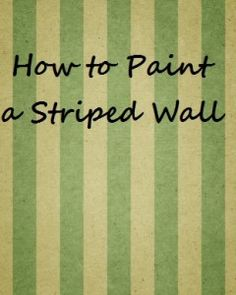 I have probably mentioned a half a dozen times or so that I love to paint walls in my house. I think it is the best bang for your buck. I know some people get nervous about the change, but paint is great …