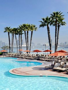 Book your ResortPass to The Coronado Island Marriott Resort & Spa! With three outdoor heated pools, a pickleball court, beach access and a state-of-the-art fitness center, Coronado Island Marriott has amenities the whole family will love. Sip your favorite handcrafted cocktail poolside while taking in stunning views of the San Diego skyline and Coronado Bridge. Whether you prefer to swim laps, unwind in a whirlpool or play a game of tennis, Coronado Island Marriott is the perfect seaside… Coronado Marriott, Coronado Island, Best Resorts, Hotels And Resorts, Best Hotels, Couples Hotels, Coronado Bridge, San Diego Skyline, San Diego Hotels