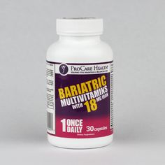 Once a day Bariatric Multivitamin with of iron 22 nutrients, 13 of those are or more Fast dissolving veggie capsule No flavors or sweeteners party independently tested for quality Also available in iron and iron free variations Pouch Reset, Veggies, Iron, Health, Party, Recipes, Vegetable Recipes, Health Care, Salud