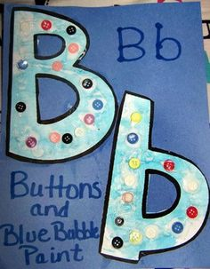 Cute easy craft for the letter B