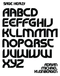 """A typeface I designed just for fun. It's called """"Sage""""(those were the first 4 letters I completed before trying it out in a word). The art was composed with CorelDraw. Letter Form, Letter I, Coreldraw, Just Me, Sage, My Design, Words, Deviantart, Fun"""