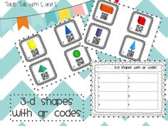 Neat ideas for using QR Codes in the classroom {Some freebies too!}