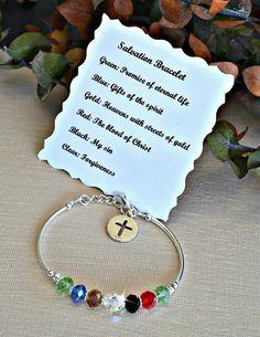 Crystal Salvation Bracelet by HeartofGems on Etsy, $21.00