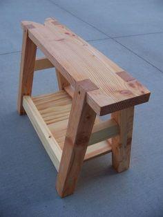 Saw Bench - by cdkoch @ LumberJocks.com ~ woodworking community #woodworkingbench