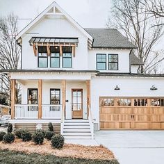 Dream House Exterior, Dream House Plans, Dream Houses, House Ideas Exterior, Home Styles Exterior, House Exteriors, Dream Home Design, My Dream Home, Cute House