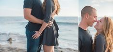 Hannah and Joe's gorgeously romantic beach engagement session at Windansea Beach in La Jolla, CA shows us what military love is all about. Photos by: Studio Sequoia Beach Engagement Photos, Engagement Photography, Engagement Session, Romantic Beach Photos, San Diego Beach, Military Wedding, San Diego Wedding Photographer, Picture Outfits, Tropical Beaches