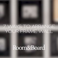 Creating a gallery wall is easy with our simple frame wall guide. Learn tips and tricks for building a gallery wall, including arrangement ideas and placement tips.