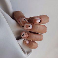 Nagellack Design, Nagellack Trends, Stylish Nails, Trendy Nails, Short Nail Designs, Nail Art Designs, Neutral Nail Designs, Nails Design, Design Art