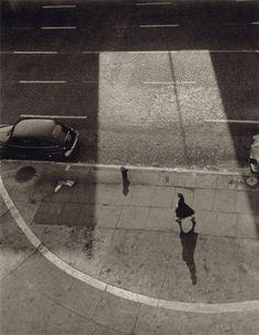 Gita Lenz, Street Scene, Carmine Street & 7th Avenue, NY, late 1940s – 1950s