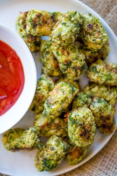 Baked Cheddar Broccoli Tots are a breeze to make, a huge hit with kids and full of flavor that'll help cut down on the carbs and fat of regular tater tots!