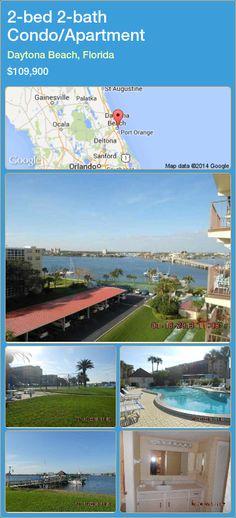 2-bed 2-bath Condo/Apartment in Daytona Beach, Florida ►$109,900 #PropertyForSaleFlorida http://florida-magic.com/properties/64818-condo-apartment-for-sale-in-daytona-beach-florida-with-2-bedroom-2-bathroom