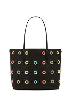 Marc by Marc Jacobs Metropolitote Grommet Bag in Black