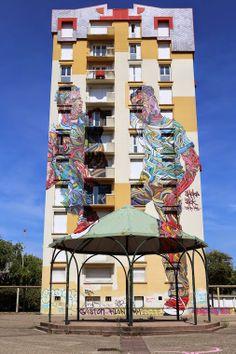 Spanish Street Artist Transforms Building Facades Into Amazing - Spanish street artist transforms building facades into amazing artworks