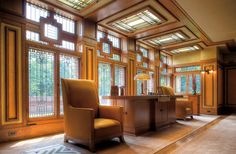 Prairie Style Interiors Frank Lloyd Wright S Meyer May House In Grand Rapids Mi The Epitome Of Craft