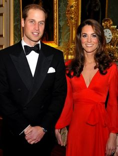 That's funny, I don't remember being out with William and posing for a picture?