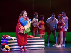 Ryann Redmond and the cast of BRING IT ON