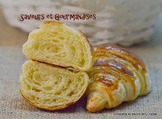 Saveurs et Gourmandises: Croissants au beurre de C. Felder.