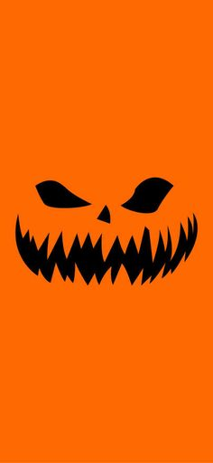Allhallows pumpkin is evil and orange Wallpapers for iPhone X, iPhone XS and iPhone XS Max - Free Wallpaper | Download Free Wallpapers