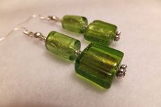 Check out this item in my Etsy shop https://www.etsy.com/listing/185889299/meadow-fresh-vibrant-green-earrings