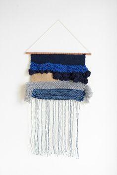 Tissage Mural Contemporain / Art Textile / Weaving