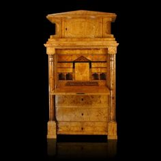 Biedermeier Secretary from Northern Germany, circa 1825 « Griffin Trading Company