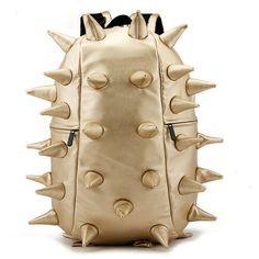 New Fashion Hedgehog Spike Women Man Punk Backpack Travelling Bag School Bag | eBay