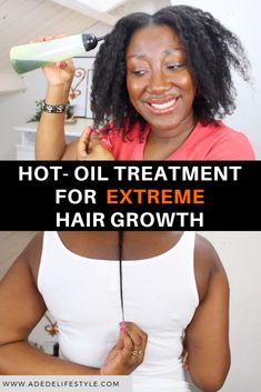 NATURAL HAIR OILS 1 2 3 In this post series, i am going to share all the natural hair products that have helped me grow my thin/fine hair long. I will start by sharing my natural hair oils. Fine Natural Hair, Natural Hair Blowout, Blowout Hair, Natural Hair Care Tips, How To Grow Natural Hair, Natural Hair Regimen, Natural Hair Growth, Natural Hair Styles, Natural Oils