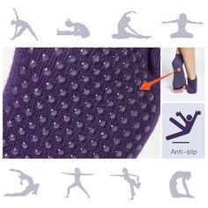 Choosing the Best Non Slip Yoga Socks Pilates Socks, Grip Socks, Martial Arts Workout, Amazon Fr, Fitness, Purple, Yoga Socks, Barbell, Sports