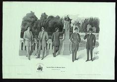 """Figurines de moda"" 1908-1918. Courtesy of the Biblioteca de Catalunya (http://www.bnc.cat). (Rights Reserved - Free Access) http://www.europeana.eu/portal/record/91906/794CA56AC9583CF616851E8D0DB1F3D7D6EF9C48.html"