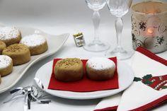 polvorones de aceite de oliva y canela Panna Cotta, Breakfast, Ethnic Recipes, Food, Canela, Sweets, Deserts, Cookies, Fairy Cakes