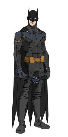 YJ Batman redesign (Grayson) by shorterazer