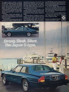 Wait, the other ad said the XJ-S was better than cars designed with wind tunnels.