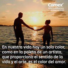 Hay colores que le dan sentido a nuestra vida. #ComexPinturerías #Mundodecolor