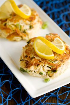 Paula Deen - The Deen Brothers Lighter Crab Cakes Recipe.