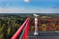 Tehvandi observation tower, Estonia