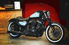 custom iron 883