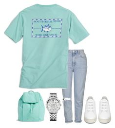 """""""Nautical Prep"""" by dreamingdaisy ❤ liked on Polyvore featuring Topshop, Southern Tide, Off-White, Tommy Hilfiger and Vera Bradley"""