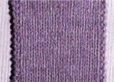 La lisière perlée double Une bordure nette et solide qui ne roule pas A chaque rang, glissez la 1ère maille comme pour la tricoter à l'endroit et tricotez à l'endroit la 2ème. Tricotez à l'endroit les 2 dernières mailles du rang.