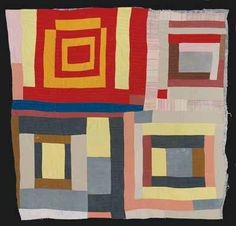 Quilts of Gees Bend. Often imitated. #iDontSaySWAG  Michael Pettway
