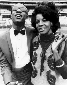 Stevie Wonder & Martha Reeves wish they had recorded some songs together. They both have voices made from heaven.